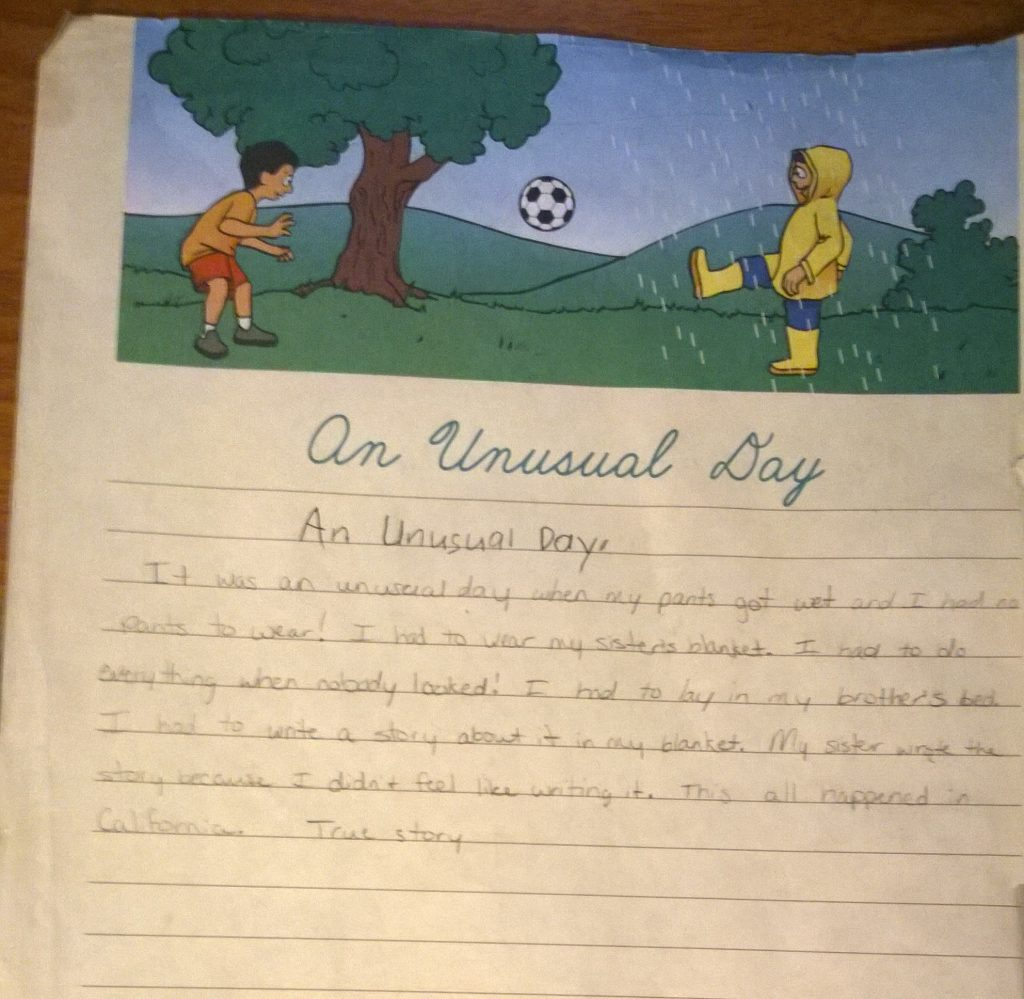 An Unusual Day – A Story from 9 Year Old Me and Raw Reflections about Current Life